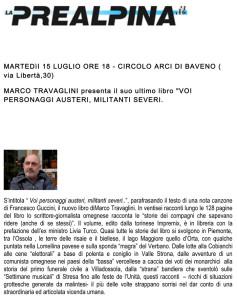 MARTEDI-15-LUGLIO-ORE-18
