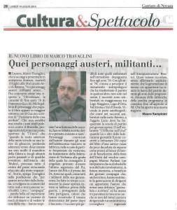 Travaglini-recensione-Corriere-di-Novara-14-luglio-2014